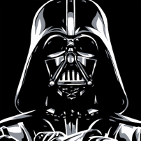 """Darth Vader"" by Allison Lefcort."