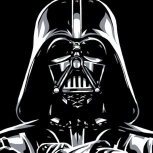 """""""Darth Vader"""" by Allison Lefcort."""