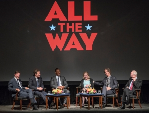 """HBO Films presents """"All The Way"""" at The Lyndon B. Johnson Presidential Library on May 11, 2016 in Austin, Texas. Photography used with permission from Jay Godwin."""