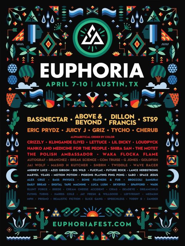 Euphoria_2016_ Full_Lineup