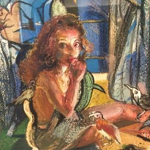 """Cinderella I"" by Natalie Frank."