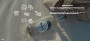 Zodiac Vodka.
