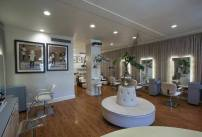 Photography of beauty parlor provided by Mark Thomas Studio.