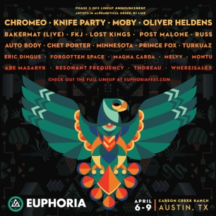 Photography provided by Euphoria Music Festival.