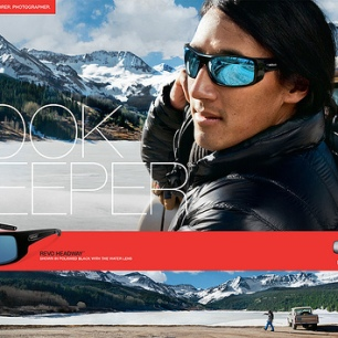 Jimmy Chin. Photography provided by REVO.