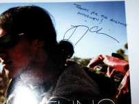 Jimmy Chin's thank you note to the writer post-interview.