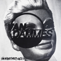 Van Dammes' cover art designed by Eemeli Rimpiläinen
