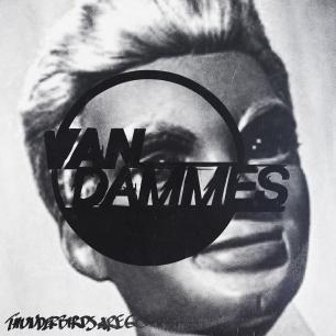 Van Dammes' cover art designed by Eemeli Rimpiläinen