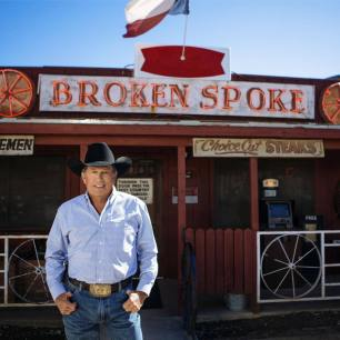 Photo of George Straight provided by Broken Spoke.